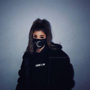 Ariana Grande Stars and Moon Mask